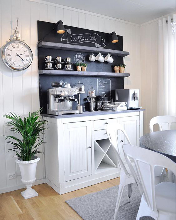25 diy coffee station ideas you need to copy home design for Coffee station ideas for the home