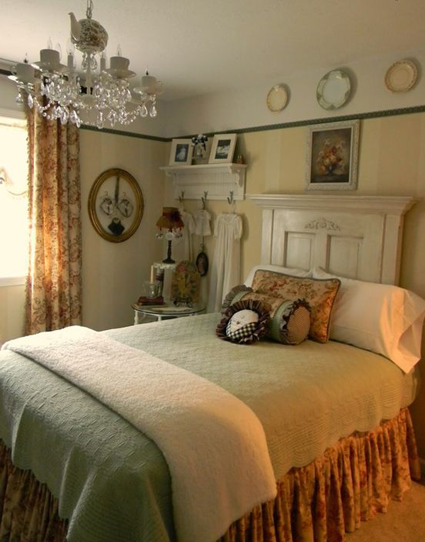 15 Cozy Vintage Themed Bedroom For Girls | Home Design And Interior