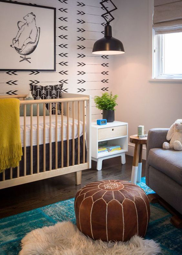 Paint Colors For Baby Boy Nursery: 22 Gender Neutral Nursery Ideas You'll Can Try