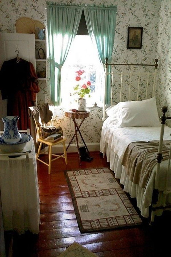 15 Cozy Vintage Themed Bedroom For Girls   Home Design And ...