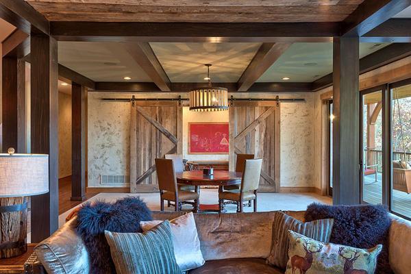 22 Contemporary Sliding Barn Doors In The Living Room