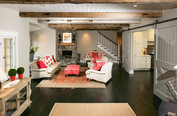 sliding-door-in-living-room-from-kitchen | Home Design And ...