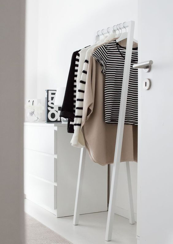 Fashionable Open Wardrobe To Simple Organizing Home