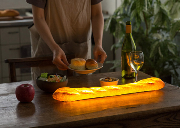 Unique Lamps That Look Delicious From Real Bread