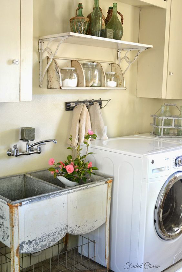 18 Most Beautiful Laundry Room With Vintage Style Home