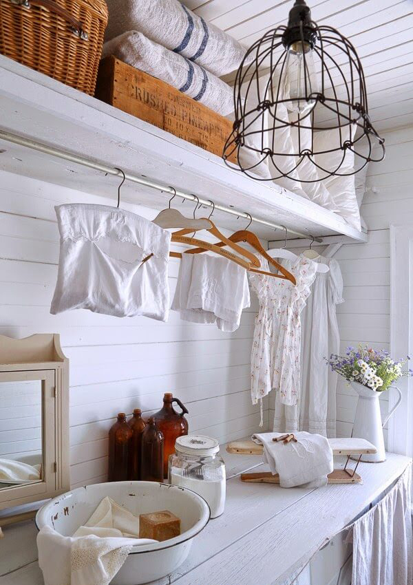 18 Most Beautiful Laundry Room With Vintage Style Homemydesign