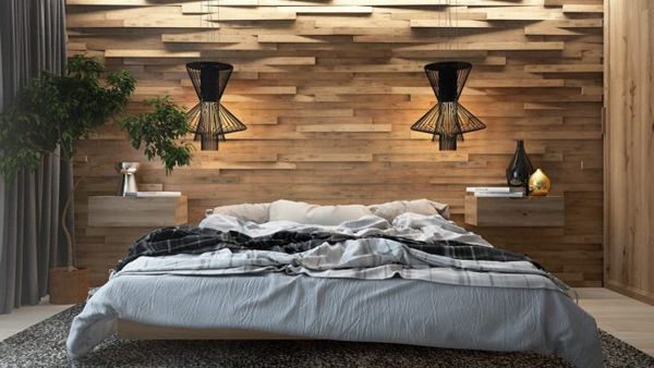 3d Wood Accent Wall Ideas For Asian Bedroom Home Design And Interior