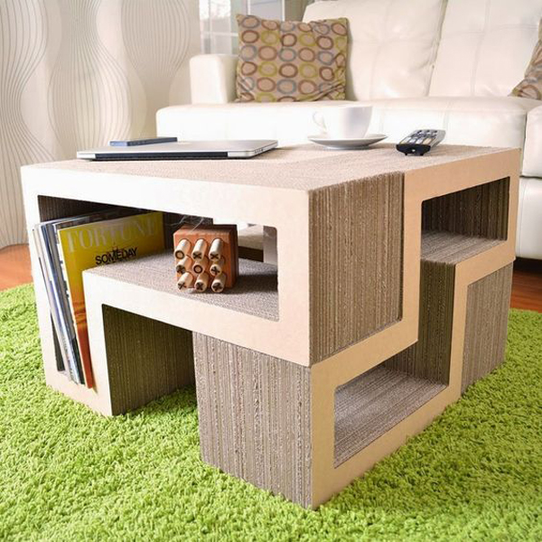 Awesome Cardboard Coffee Table Pictures Best Idea Home Design