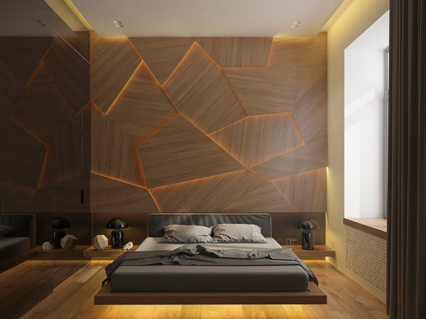 18 Wooden Accent Wall Ideas For Modern Bedroom | Home Design And ...