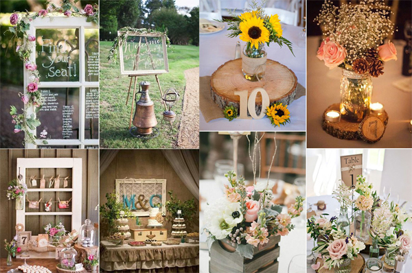 Awesome Rustic Wedding With Wooden Vibe Elements | Home Design And ...