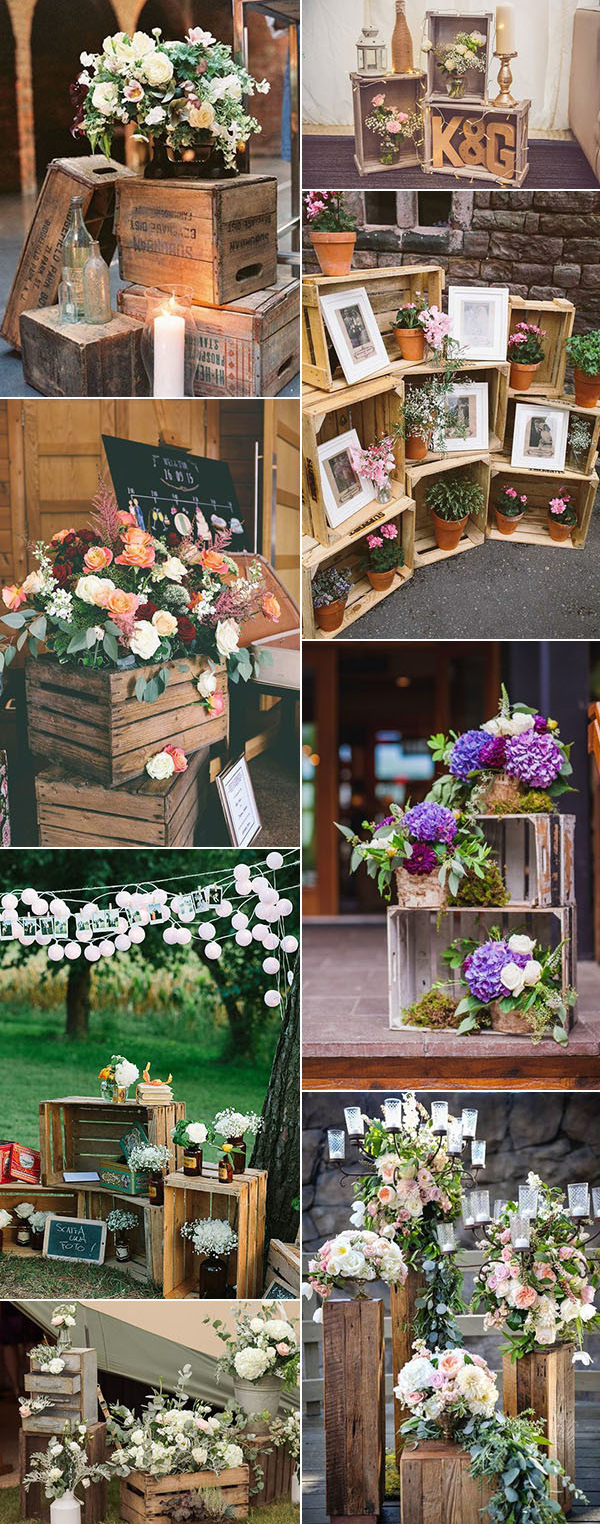 Stairs Pallets Or Even Your Old Wooden Windows And Doors Look At How Rustic Wedding With DIY Project Created A Miracle Lets Check It Out