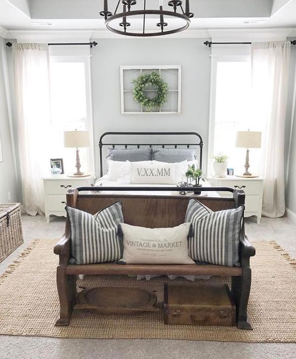 25 cozy and stylish farmhouse bedroom ideas  homemydesign