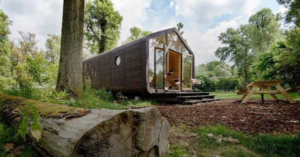 Practical Cardboard Wikkelhouse Built In One Days