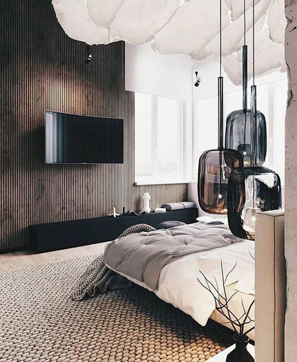 Wood Accent Wall Bedroom Ideas: 18 Wooden Accent Wall Ideas For Modern Bedroom