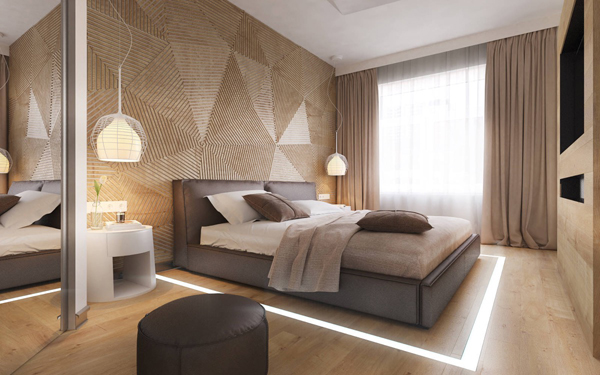 Use a piece of art to bring your bedroom decor to the next level  Discover  through our 18 wood accent wall ideas. 18 Wooden Accent Wall Ideas For Modern Bedroom   Home Design And