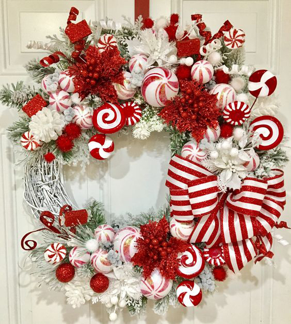 Christmas Crafts Made Out Of Candy