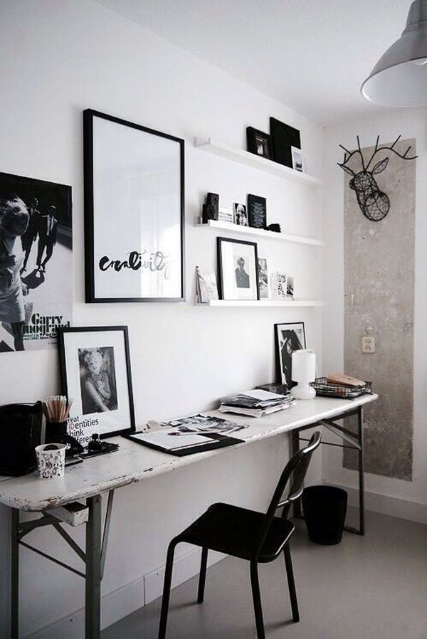 25 Cool And Masculine Home Office For A Man | Home Design And Interior