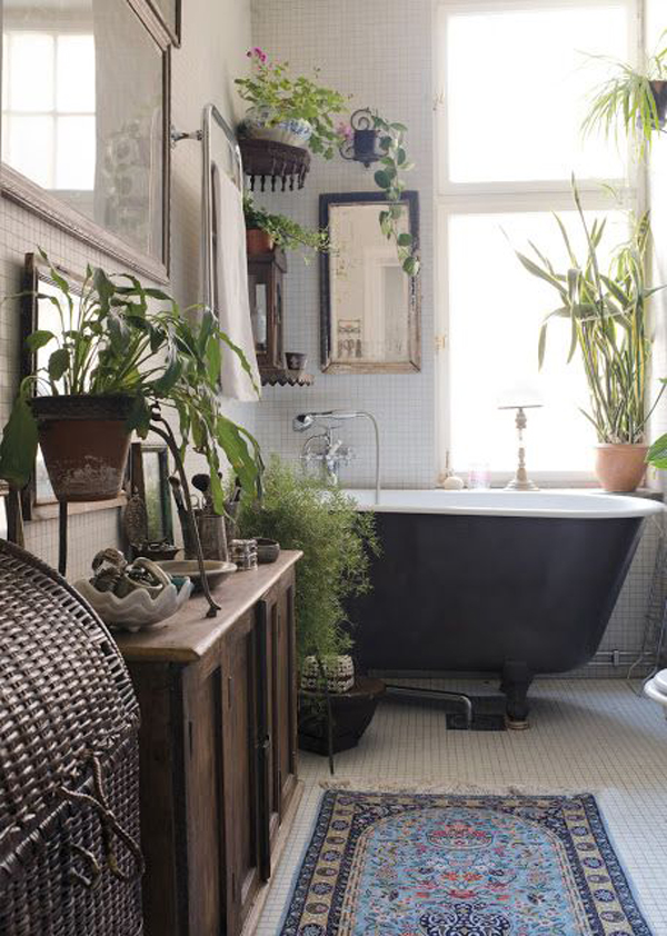 22 Eclectic Ideas Of Bathroom Wall Decor: 20 Chic And Minimalist Boho Bathroom Design Ideas