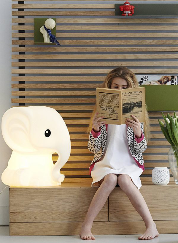 Kids Bedside Table Lamp With Animal Theme Home Design And Interior