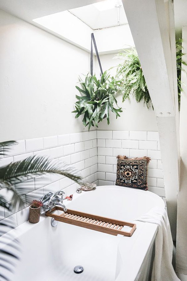Here Are Some Bathroom Ideas That You Need To Change Minimalist White Into A Trendy Boho Paradise Get Inspired