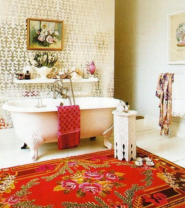 Minimalist Bathroom Decor: 20 Chic And Minimalist Boho Bathroom Design Ideas