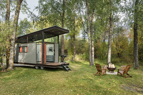Functional Tiny House To Live In Nature