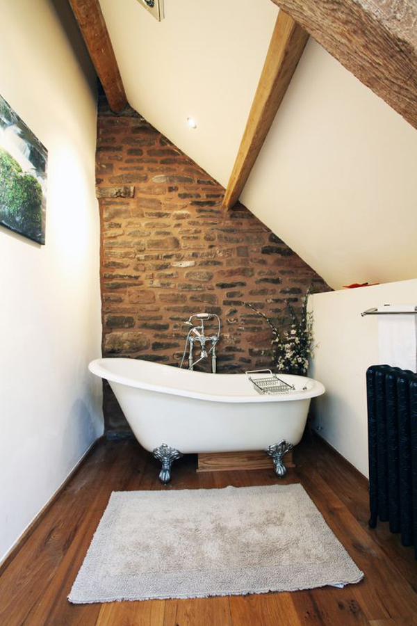 Small Loft Bathroom Ideas Part - 49: Homemydesign.com