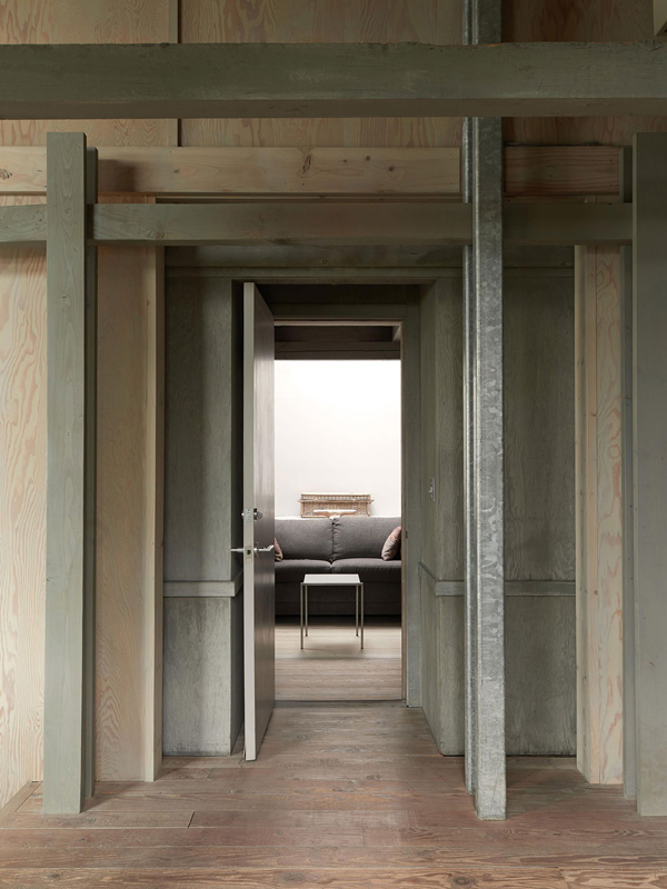 Wooden Cabin Doors