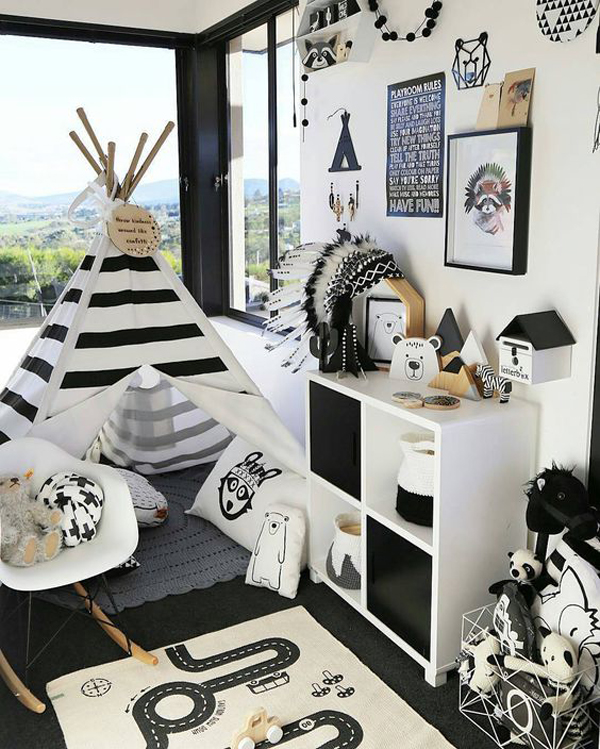 10 Awesome Music Inspired Home Decor Ideas: 10 Awesome Kids Playrooms With Adventure Themes