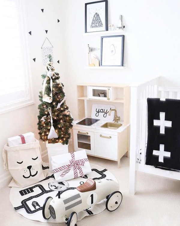 15 Awesome Kids Room With Christmas Touches Home Design And Interior