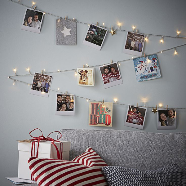 10 Super Creative Christmas Card Display Ideas Homemydesign