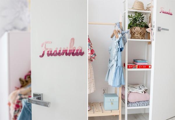 Fasinka Girls Closet Storage