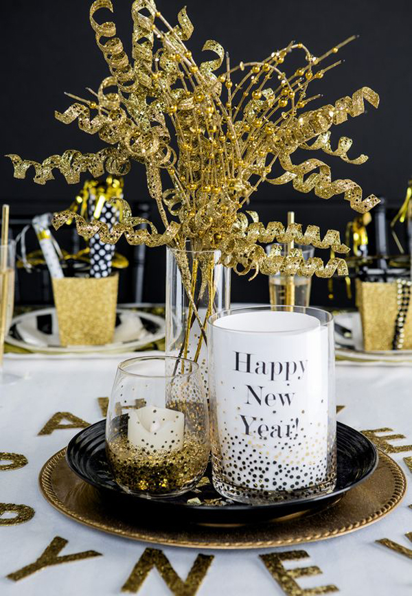 20 Black And Gold New Year Party For Last Holiday ...
