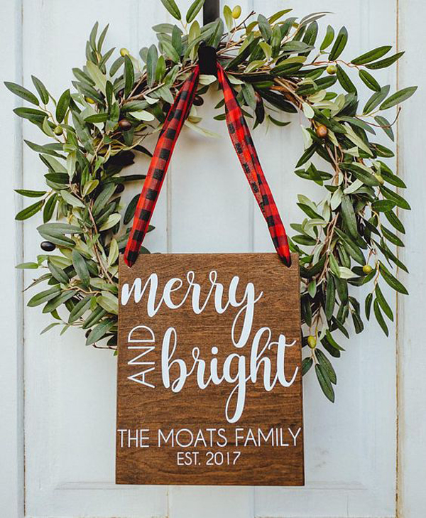 Gallery Of 25 Cool Ways To Create Merry Christmas Signs