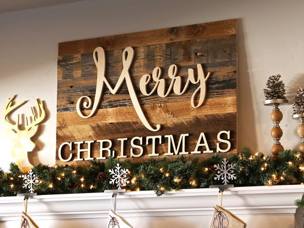 25 Cool Ways To Create Merry Christmas Signs Home Design