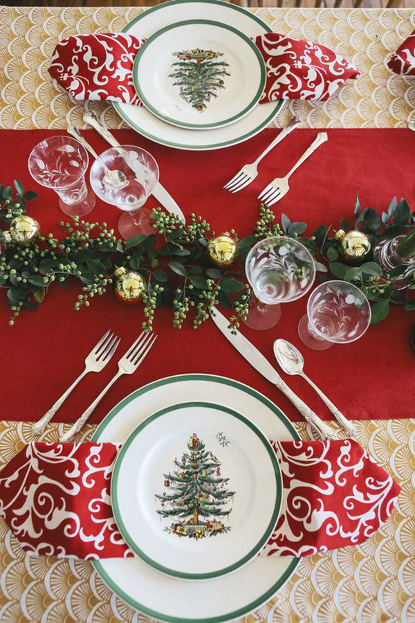Traditional Christmas Table Ideas For Asian Culture