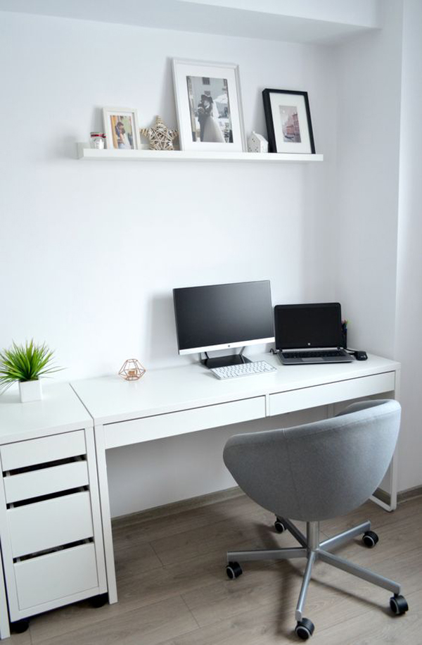 20 Simple And Stylish Workspace With IKEA Micke Desk ...