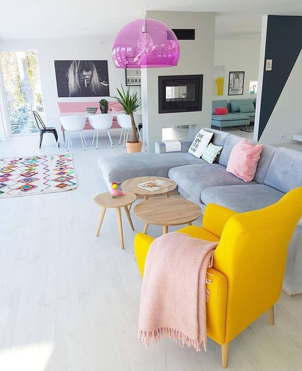 15 pretty living room ideas for fashionable young girl 39 s for Young modern living room