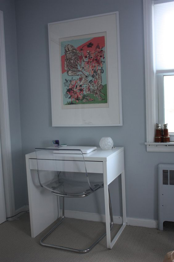 20 Simple And Stylish Workspace With IKEA Micke Desk | Home Design ...