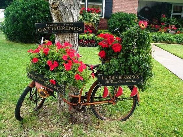 You Do Not Have To Imagine, Here Are 15 Garden Ideas With Unusual Items  That Iu0027m Sure You Have Them All In The Warehouse. Letu0027s Check!
