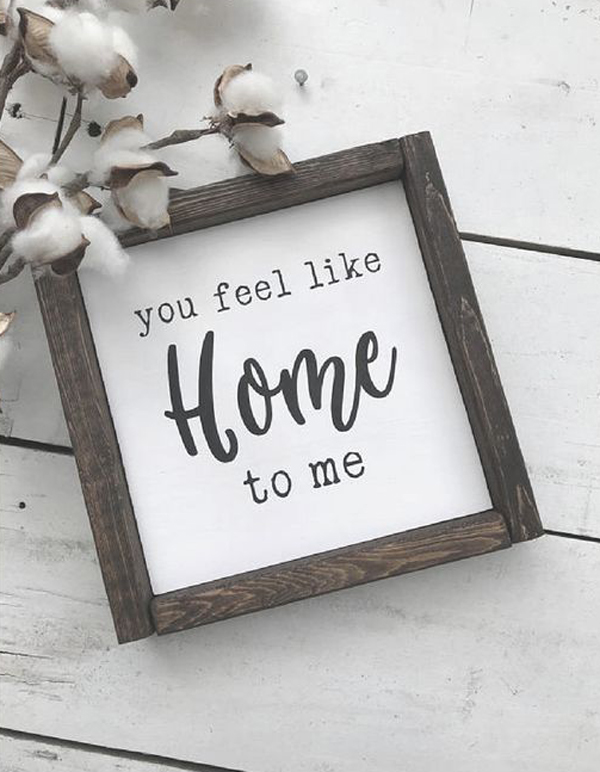 Wooden Frame Sign For Valentine Day Gifts