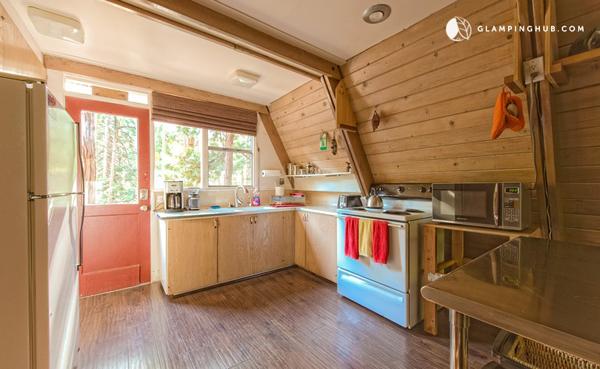 A Frame Cabin Kitchen Island Home Design And Interior