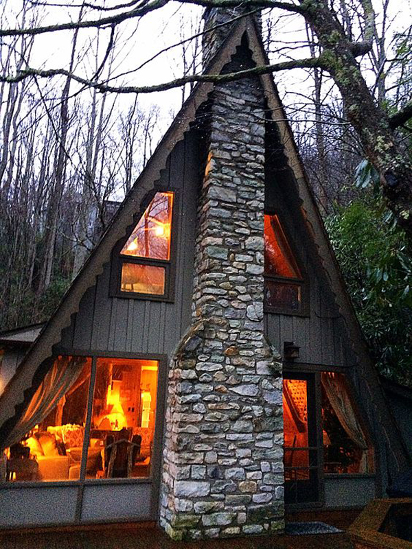 35 most beautiful a frame cabins you can dreaming home for A frame cottage