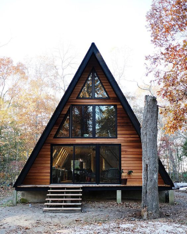 35 most beautiful a frame cabins you can dreaming home for Beautiful a frame homes
