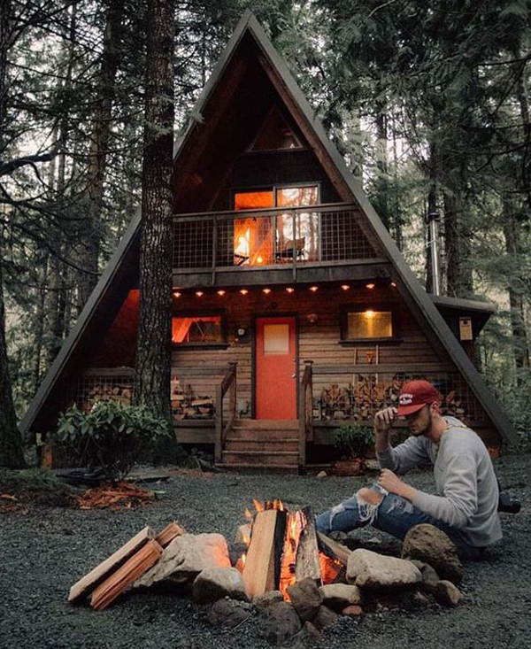 Cool-a-frame-cabins-for-man