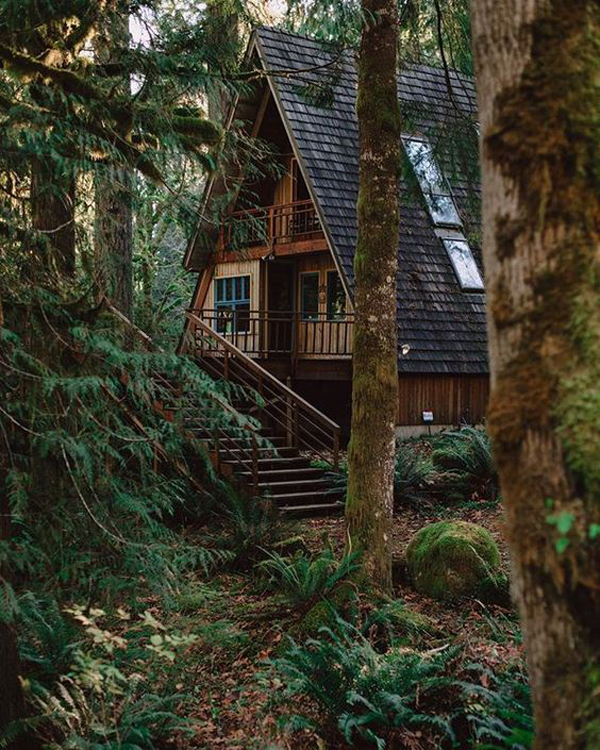35 Most Beautiful A-Frame Cabins You Can Dreaming | Home ...