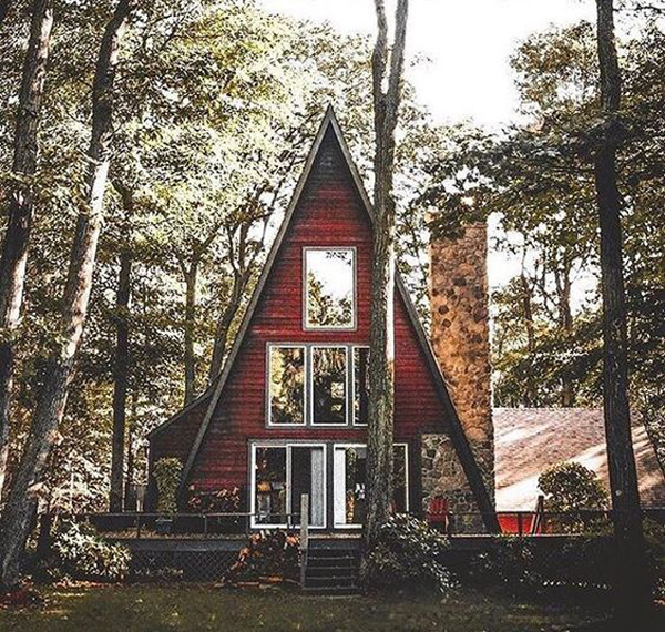 35 Most Beautiful A Frame Cabins You Can Dreaming Home