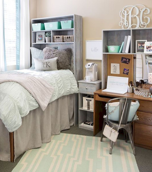 20 brilliant dorm room organization for everything you - Cool dorm room ideas ...