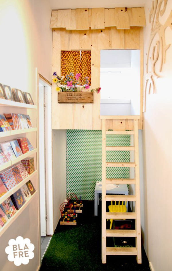 10 Most Amazing Indoor Treehouses For Kids | Home Design And Interior