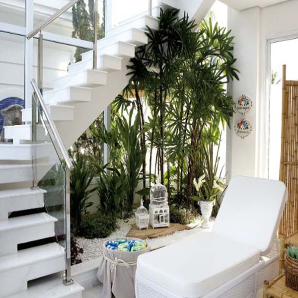 Understairs Plants Decor Ideas